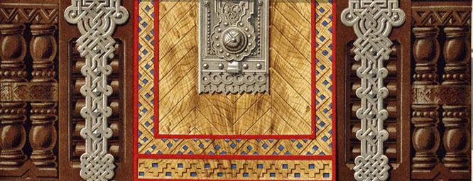 Стилевое описание архитектуры из дерева.