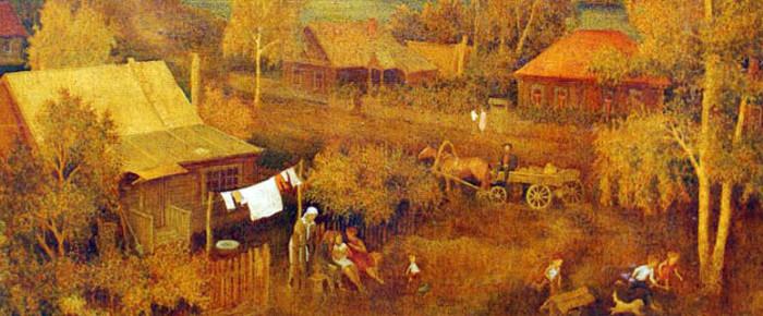 Традиционная деревня России