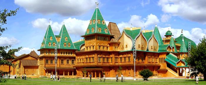 Деревянные жилища древнерусских князей
