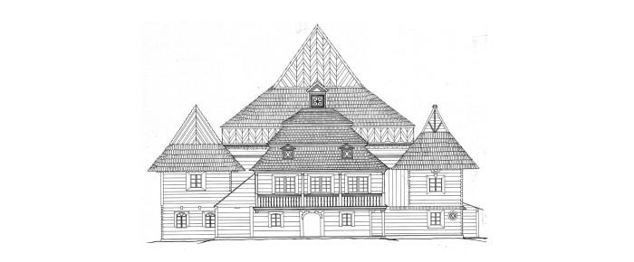 Деревянная синагога города Заблудув