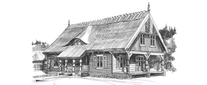 Памятники деревянной архитектуры Мазур