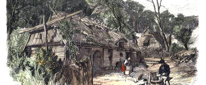 Жилье стародавней Литвы